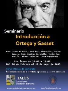 Cartel Seminario Ortega-Portada